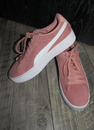 Замшевые кроссовки puma р. 39-25см оригинал