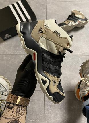 Кроссовки Adidas Terrex AX3 Beige/Black.