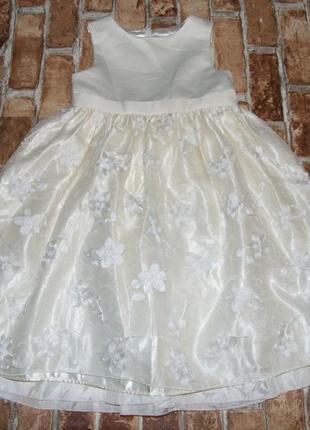 Платье нарядное пышное 6 лет cinderella