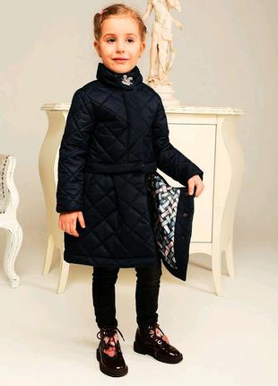 Куртка-плащ демисезонный для девочки