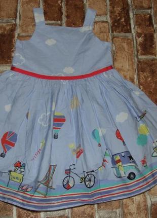 Платье нарядное 1-2 года next