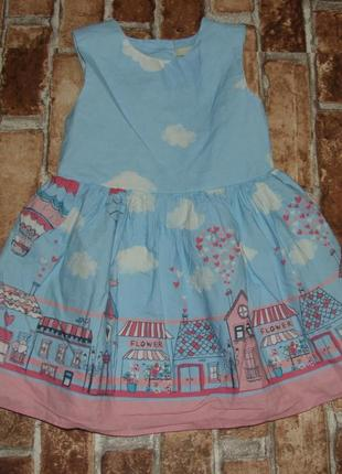 Платье нарядное 1-2 года george сток