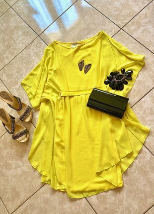 Воздушное яркое платье Zara