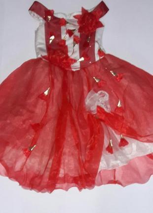 Нарядное пышное платье на утренник или выпускной