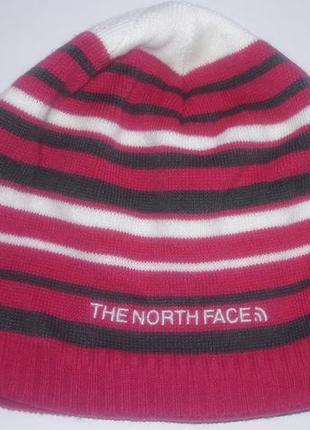 Теплая шапка the north face, размер м