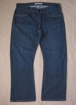 Levis 512 bootcut (w36 l30) джинсы мужские укороченные