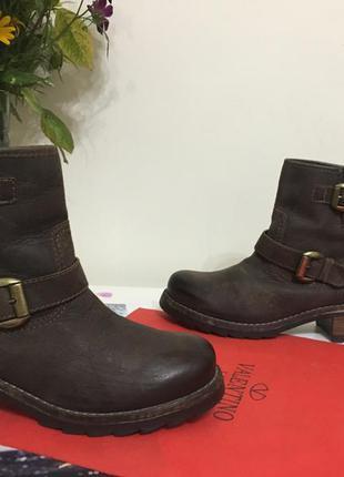 Ботинки wrangler кожа нубук 26см