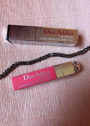 Блеск для губ Dior addict lip tattoo 451 оригинал