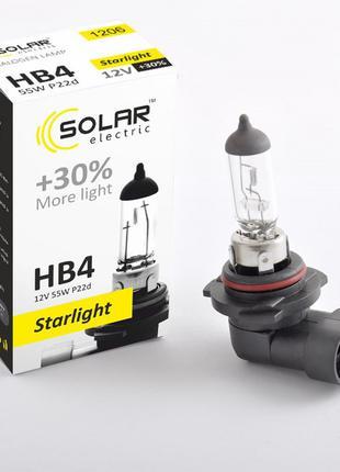 Галогеновая лампа Solar HB4 +30% 12v/55w