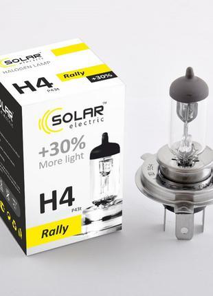 Галогеновая лампа Solar H4 +30% 24v 100/90w