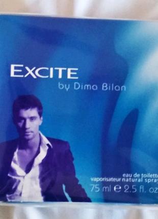 Туалетная вода (духи) Дима Билан Орифлейм, Exite by Dima Bilan