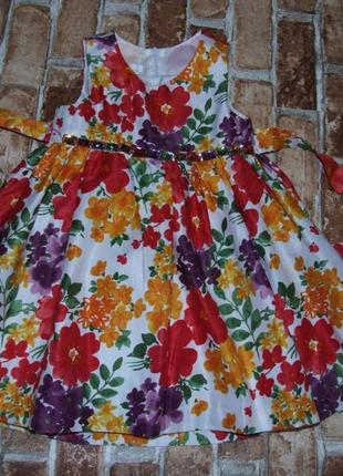 Платье нарядное 3 года amerikan princess сток девочке