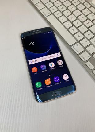 Samsung Galaxy S7 Edge Blue Coral 32gb G935 #769