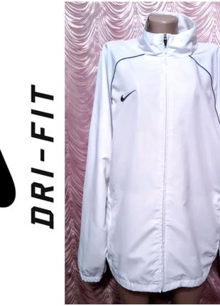 Nike. Винтажная мастерка, ветровка, спортивная куртка. XL размер.