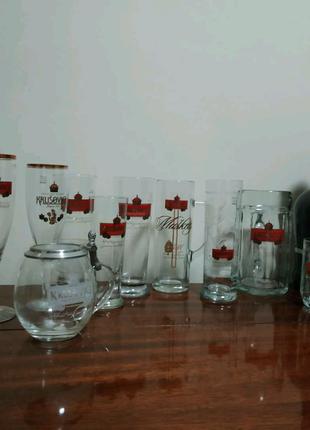 Колекция пивных бокалов