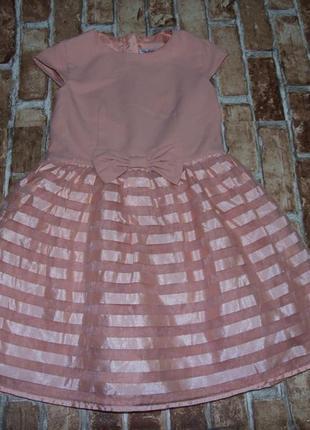 Платье нарядное 8 лет сток
