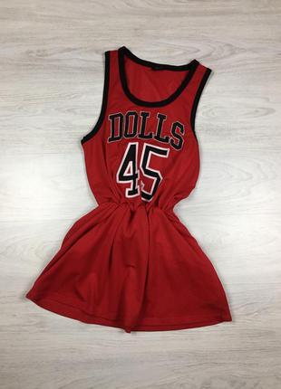 Баскетбольное платье dolls 45 nike puma reebok