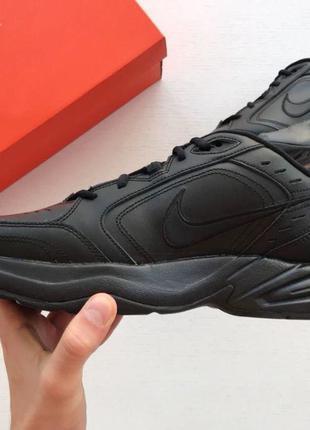 Nike Air Monarch IV (черные)
