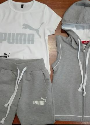 Спортивный костюм для девочек и мальчиков PUMA от 3-14 лет