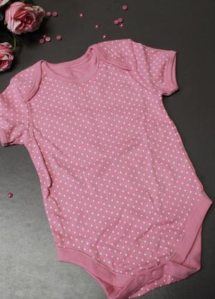 Боди george размер 12-18 месяцев рост 80-86, розовый