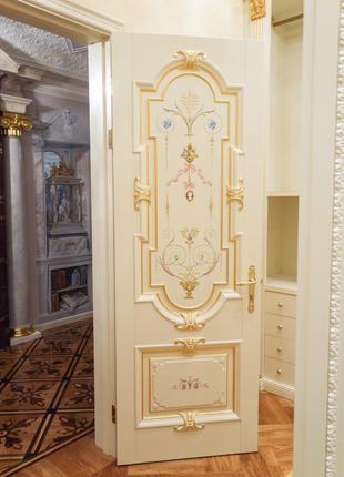 Резные деревянные двери под заказ