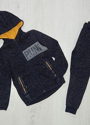 Утепленый спортивный костюм для мальчика