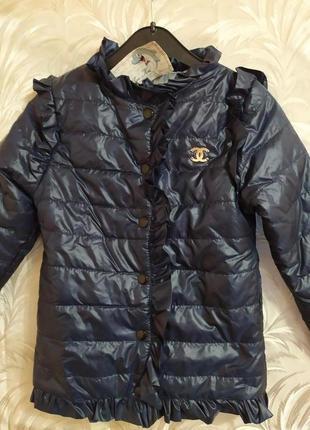 Курточка Деми для Ваших модниц!
