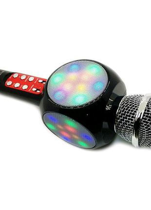 Микрофон караоке  беспроводной блютуз колонка 3в1 оригинал качест