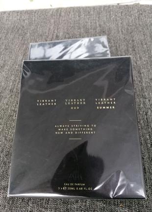 Мужская парфюмерная вода Zara Vibrant leather