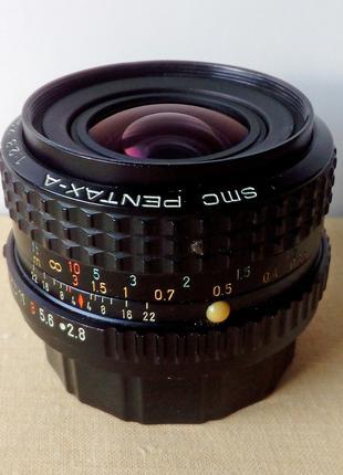 Объектив SMC Pentax-A 1:2.8 28mm