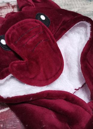 Крутой велюровый костюм 3-ка на флисе для девочки