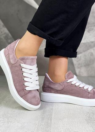 ❤ женские замшевые кеды кроссовки ❤
