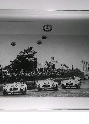 Новый и оригинальный алюминиевый поднос Mercedes, подарок мужчине