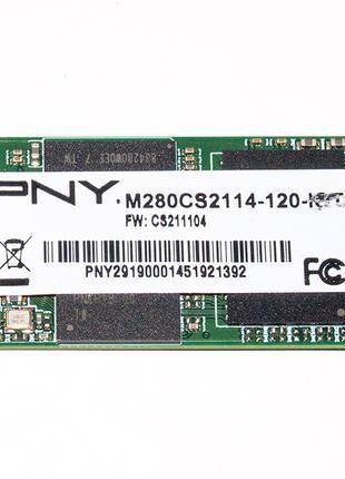 Надёжный SSD диск PNY SSD 120Gb M.2 SATA 6Gb/s (M280CS2114-120)
