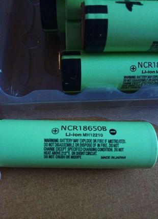 Аккумулятор 18650 Li-Ion NCR18650B Protected, 2500mAh