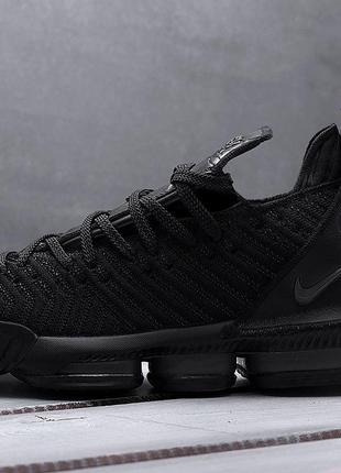 Nike LeBron XVI ALL BLACK (черные)