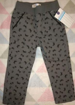 Штаны (джинсы) для мальчика 12-18 мес., рост 86 см.