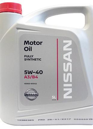Моторное масло Nissan / Infiniti Motor Oil 5W-40