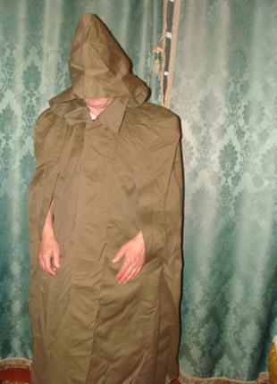 Военный офицерский плащ накидка безрукавка ВС СА СССР новая,в и