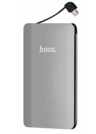 Внешний аккумулятор/Повербанк Hoco 5000 mAh.