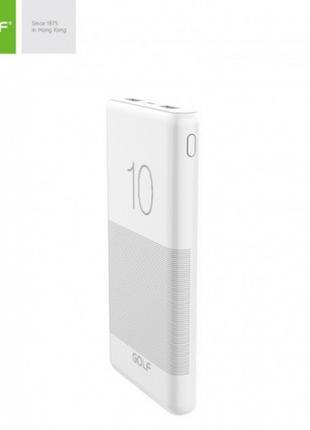 Внешний аккумулятор Power bank GOLF G80 10000 Mah батарея зарядка