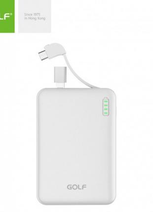 Внешний аккумулятор Power bank GOLF G73 10000 Mah батарея зарядка