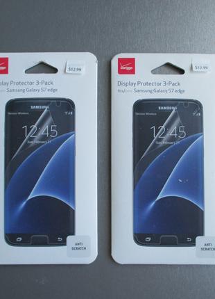 Фирменная Verizon защитная пленка для Samsung Galaxy s7 Edge G935