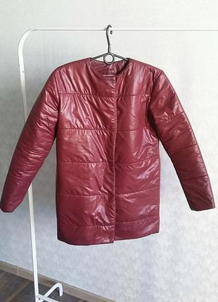 Куртка марсала размер S