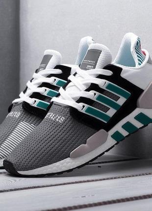 Adidas EQT Support 91/18 (бело зеленые)