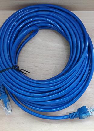 Кабель LAN CAT5 10m синий cheap