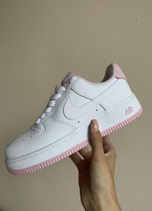 Кросівки nike air force white pink кроссовки