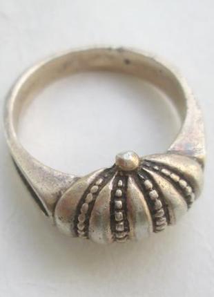 Кольцо серебро с напылением золота ,проба 925