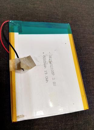 Аккумулятор 3.8V 5000Mah для планшета