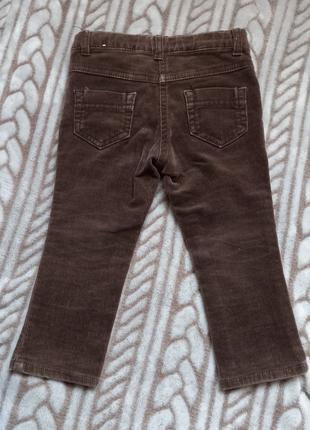 Вельвет брюки 12 m